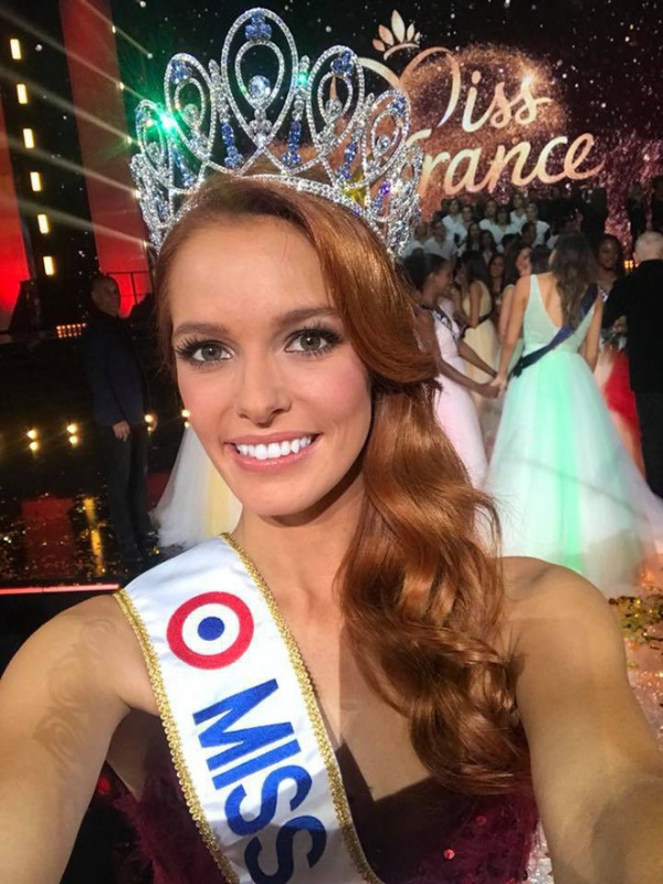 chic Maëva Coucke, Miss France 2018